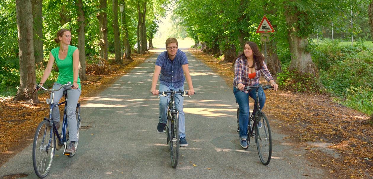 Fahrradfahrer Mulsum