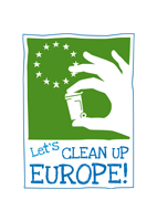 Das Logo der Kampagne Let\'s clean up Europe